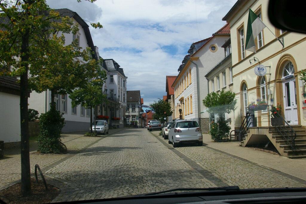 Hauptstraße in Oerlinghausen